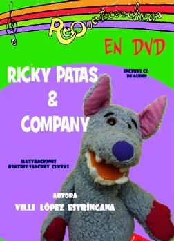 Portada del DVD Riky Patas